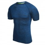 RunMi 90 Points Men`s T-shirt Blue Size S