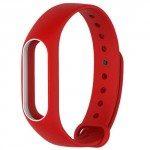 Xiaomi Mi Band 2 Silicone Strap Red/White