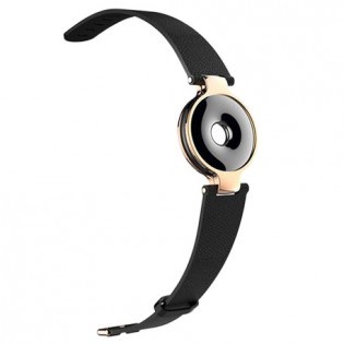 Amazfit Moon Beam Leather Wristband Black