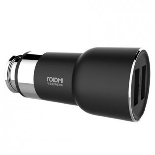 Xiaomi RoidMi 5 in 1 Music Bluetooth Car Charger 2S Smart Drive BFQ02RM Black
