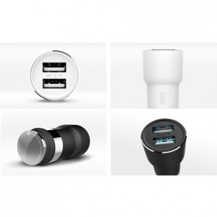 Xiaomi RoidMi 5 in 1 Music Bluetooth Car Charger 2 Classic BFQ03RM White