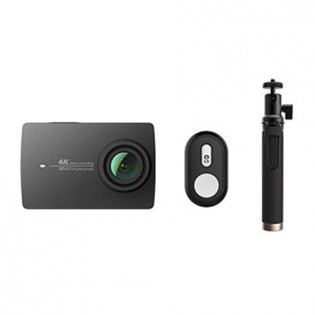 Yi 4K Action Camera 2 Black Bluetooth Kit