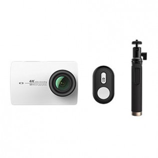 Yi 4K Action Camera 2 White Bluetooth Kit